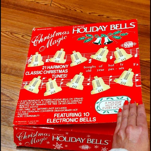 Vintage electronic holiday sound bells